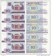 BIELORUSSIE 10 RUBLEI 2000 UNC P 23 ( 100 Billets ) - Belarus