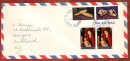 Luftpost, Weihnachten U.a., Rarotonga Cook Islands Nach Auckland 1978 (71838) - Cookinseln