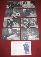 Simone Signoret MADAME ROSA Michael Bat-Adam 8x Yugoslavian Lobby Cards - Foto's