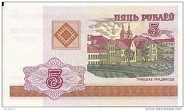 BIELORUSSIE 5 RUBLES 2000 UNC P 22 - Belarus