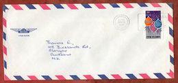 Luftpost, Weihnachten, Avarua Cook Islands Nach Auckland 1980 (71843) - Islas Cook