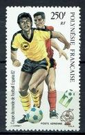 French Polynesia, 1982 FIFA World Cup, ESPANA 82, 1982, MNH VF  Airmail - Airmail
