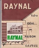 CATALOGUE MAISON RAYNAL 1955 - Publicités