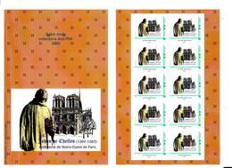 FRANCE Collector Jehan De Chelles Bâtisseur De Notre Dame De Paris - Collectors
