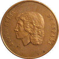 ESPAÑA. MEDALLA CONMEMORATIVA DE LA VISITA DE LA REINA SOFÍA A LA F.N.M.T. 1.988. ESPAGNE. SPAIN MEDAL - Monarquía/ Nobleza