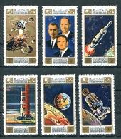 APOLLO 15 ALFRED WORDEN - DAVID SCOTT - JAMES IRWIN. MANAMA YEAR 1971 MICHEL 578 / 583 OBLITERES COMPLETE SERIE - LILHU - Manama