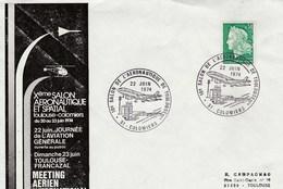 10e SALON DE L'AERONAUTIQUE DE TOULOUSE  COLOMIERS 22 JUIN 1974 - Altri
