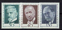 Liechtenstein 1972 // Mi. 570/572 ** - Liechtenstein