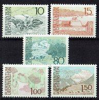 Liechtenstein 1972 // Mi. 573/577 ** - Liechtenstein