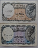 2 * 5 PIASTERS  SIG/ Medhat Hasaneen    EGYPT (Egypte) (Egitto) (Ägypten) (Egipto) (Egypten) Africa - Egitto