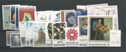 1996 MNH Denmark, Dänemark, Year Complete, Postfris - Danimarca
