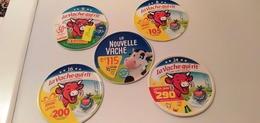 LOT ETIQUETTES DE FROMAGE LA VACHE QUI RIT-ETIQUETTES DE PROMOTIONS - Cheese