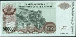 CROATIA - 500.000 Dinara 1993 {Knin} UNC P. R23 - Croatia