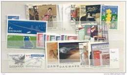 2000 MNH Denmark, Dänemark, Year Complete, Excluding Blocks, Postfris - Danimarca