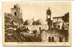 PALERMO - CHIESA S. GIOVANNI DEGLI EREMITI COSTRUITA NEL 1132. ITALY POSTAL CPA CIRCA 1910 NOT CIRCULATED - LILHU - Palermo