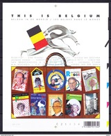België 2004 Blok Nr 108( Nr 3235/44 ) ** , Zeer Mooi Lot 3767 - Collections (without Album)