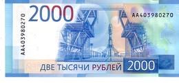 Russia P.279 2000 Rublos 2017 Unc - Russia