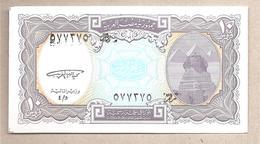 Egitto - Banconota Non Circolata FdS Da 10 Piastre P-189a - 1998 - Egitto