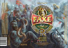 Empty Aluminum Can Faxe The Saga Of Ragnar Lodbrok Vol.5. 1l. - Dosen