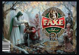 Empty Aluminum Can Faxe The Saga Of Ragnar Lodbrok Vol.3. 1l. - Dosen