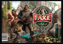 Empty Aluminum Can Faxe The Saga Of Ragnar Lodbrok Vol.4. 1l. - Dosen