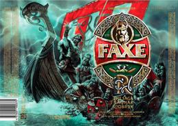 Empty Aluminum Can Faxe The Saga Of Ragnar Lodbrok Vol.2. 1l. - Latas