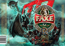 Empty Aluminum Can Faxe The Saga Of Ragnar Lodbrok Vol.2. 1l. - Dosen
