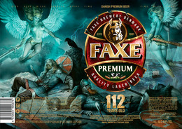 Empty Aluminum Can Faxe 112 Years Old. 1l. - Cans