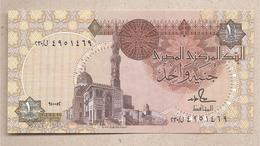 Egitto - Banconota Non Circolata Da 1 Sterlina P-50d.13 - 1992 - Egitto