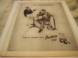 ANCIENNE PUBLICITE TOUT LE MONDE BOIT  LIMONADE PSCHITT  1959 - Affiches