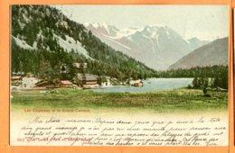 FR467, Lac De Champex Et Le Grand Combin, 652, Précurseur, Circulée 1901 - VS Valais