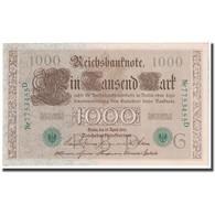 Billet, Allemagne, 1000 Mark, 1910, 1910-04-21, KM:45b, SPL - [ 2] 1871-1918 : German Empire