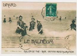 26970 Carte Publicitaire DINARD Le Balneum -salon De Thé -bar  ( Récent ) - Dinard