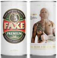Empty Aluminum Can Faxe Jeff Monson 0,9l. - Latas