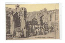 CPA COMORES - GRANDE COMORE - LA PLACE KABARY - Comores