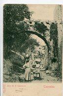 ARCO DEI P. CAPPUCCINI - TAORMINA. ITALY POSTAL CPA CIRCA 1910 NOT CIRCULATED - LILHU - Italien