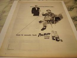 ANCIENNE PUBLICITE TOUT LE MONDE BOIT  LIMONADE PSCHITT  1959 - Afiches