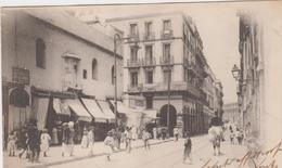Alger Algeri Algeria Rue Nab El Oued Et Eglise N.d. Des Victoires - Algeri