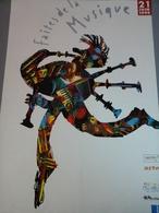 Affiche Faites De La Musique 1995 Signé Alain Le Quernec - Posters