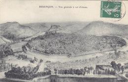 25  Doubs  -  Besançon  -  Vue  Générale  à  Vol  D'oiseau - Besancon