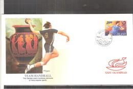 Hand-Ball - JO Séoul 1988 - FDC Islande (à Voir) - Hand-Ball