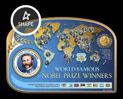 Sierra Leone 2019 Mih. 10406 (Bl.1601) World-Famous Nobel Prize Winners. Social Activist Henry Dunant MNH ** - Sierra Leone (1961-...)