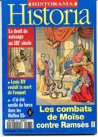 HISTORIA N° 573 Histoire Combats De Moïse Ramsès II  , Doit De Cuissage 19 Eme , Enrolé Waffen SS - Histoire