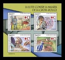 Djibouti 2019 Mih. 2625/28 Medicine. Red Cross Fight Against Malaria MNH ** - Djibouti (1977-...)