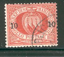SAN MARINO 1892 Scott Cat. No. 28 Used - San Marino
