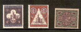 SAN MARINO 1894 Scott Cat. No(s). 29-31 MH - San Marino