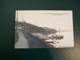 Carte Postale Ancienne Du Cellier: Les Coteaux Et La Loire Au Port De Clermont - Le Cellier