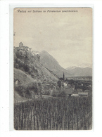 CPA LIECHTENSTEIN - VADUZ MIT SCHLOSS IM FURSTENTUM LIECHTENSTEIN - Liechtenstein