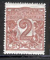 SAN MARINO 1921 Scott Cat. No(s). 41 MH - San Marino