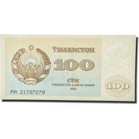 Billet, Uzbekistan, 100 Sum, 1992, KM:67a, NEUF - Uzbekistan